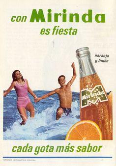 Mirinda, la de naranja de la Pepsi.....