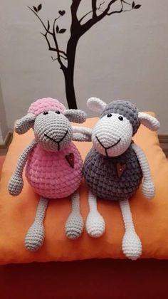 Crochet sheep - ovečky