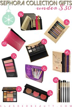 Sephora Collection Gifts Under $30 | Slashed Beauty