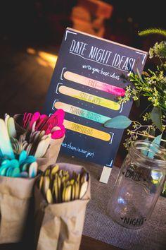 Date Night Suggestions Jar by WarfelStudios on Etsy