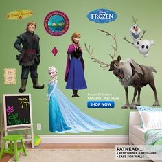 Disney Frozen Collection Wall Decal