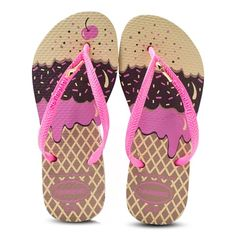 Havaianas Kids Slim Ice Cream Flip Flops