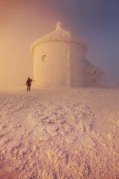 A chapel under the snow -  Karol Nienartowicz