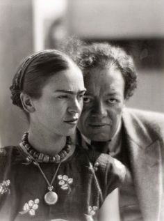 Frida Kahlo and Diego Rivera - 1933