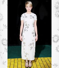 Michelle Williams - amazing hair/makeup