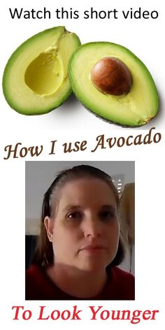 Do this 2 to 3 times a week to look younger. I am using avo in my facial routine to leave my skin feel moisturised and vibrant.