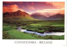 Connemara National Park is situated in the heart of its rugged West of Ireland namesake region. Some of the Park's mountains are part of the famous Twelve Bens range while the stunning vistas from the 400-metre high Diamond Hill include the distant islands of Inishbofin, Inishturk and Inishshark and the turreted Kylemore Abbey.