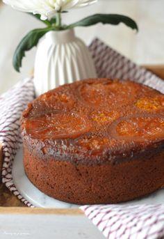 Gâteau moelleux à l'orange & à la fleur d'oranger