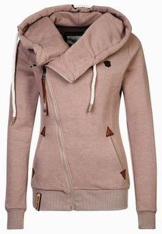 Comfy Side Zip Tracksuit Top Hoodie | Fashionista Tribe