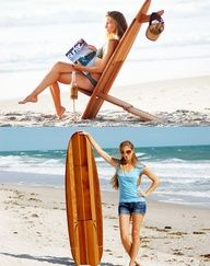 Surfboard Chair Easy