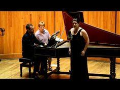 ▶ Chelsa Morris sings Piangerò la sorte mia from Giulio Cesare in the Handel Aria Competition. - YouTube