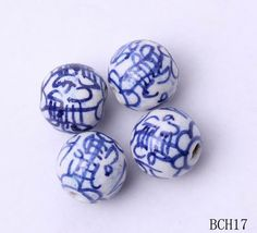 11mm Ball Blue White Porcelain Charms Jewelry Necklaces Making Findings Beads http://www.eozy.com/11mm-ball-blue-white-porcelain-charms-jewelry-necklaces-making-findings-beads