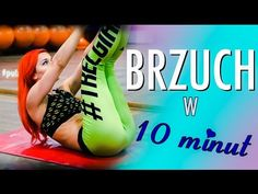 Domowy super trening brzucha - tylko 10 minut ! - YouTube Belly Pooch, Zumba, Health Fitness, Weight Loss, Workout, Youtube, Sports, Instagram, Women
