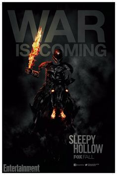 Sleepy Hollow War is Coming Comic Con 2014 Poster