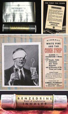 Interesting... a benzedrine inhaler.No wonder those earlier generations could work so hard.