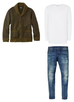 """""""Outfit2"""" by keeshafrancois on Polyvore featuring Scotch & Soda, L.L.Bean, Topman, men's fashion and menswear"""