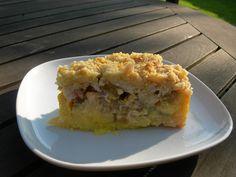 rabarber (aardbeien) taart