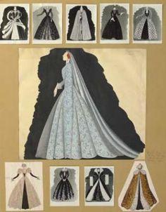 Herbert Ploberger – Kostümentwürfe für Königin Maria Stuart von Schottland | Das Herz der Königin, 1939/1940