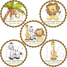 King of the Jungle Baby Shower Invitation by LilyPieStudio on Etsy, $12.00