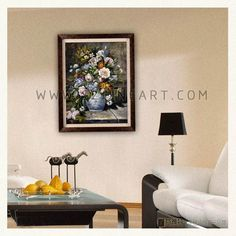 Pierre-Auguste Renoir Impression flowers