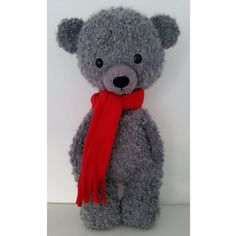 Knitted Bear Pattern by ThisIsSuzy on Etsy