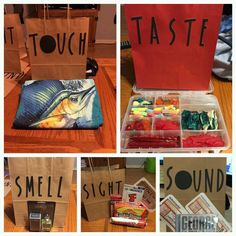 5 Touch Taste Smell Sight Sound More Diy Birthday Gifts