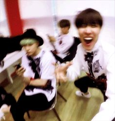 And this was the last time anyone ever saw Jung Hoseok... Pfft, Suga looks like he is about to kill Hobi! #BTS #JHope #Suga