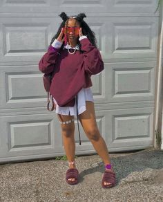 Swag Outfits For Girls, Teenage Girl Outfits, Cute Swag Outfits, Cute Comfy Outfits, Dope Outfits, Teen Fashion Outfits, Retro Outfits, Look Fashion, Stylish Outfits