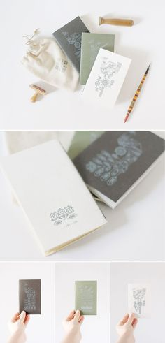 From IAMTHELAB.com Get Inspired: Handmade Notebooks by Buntmal