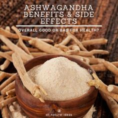 Because of their ability to help manage chronic stress, more people are using adaptogenic herbs. Ashwagandha is perhaps most popular among these special herbs. Let's take a look at ashwagandha benefits and side effects. Uti Remedies, Herbal Remedies, Thyme Herb, Tea Benefits, Chronic Stress, Best Tea, Herbal Medicine, Health Diet, Side Effects