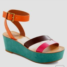 Uptown Fun Wedge, from ModCloth