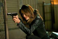 Nikita has a gun
