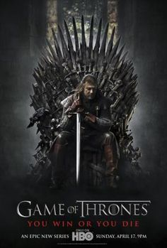 A great poster of Ned Stark (Sean Bean) from Season 1 of Game of Thrones! You win or you die. Winter is coming so check out the rest of our fantastic selection of Game of Thrones posters! Need Poster Mounts. Ned Stark, Eddard Stark, Game Of Thrones Saison, Game Of Thrones Series, Game Of Thrones Tv, Movies And Series, Hbo Series, Movies And Tv Shows, Tv Series To Watch