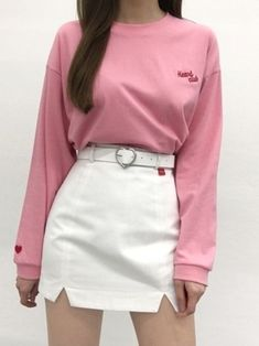 Korean Fashion Trends you can Steal – Designer Fashion Tips Korean Fashion Trends, Korean Street Fashion, Korea Fashion, Asian Fashion, Pink Fashion, Cute Fashion, Fashion Outfits, Womens Fashion, Fashion Photo
