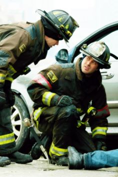 Severide and Casey