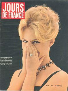 Brigitte Bardot - Jours de France n°218, 17 janvier 1959