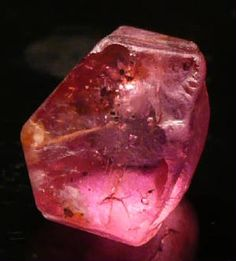 Red Taaffeite Crystal - from Sri Lanka - 3.8 ct - sold for $7,500