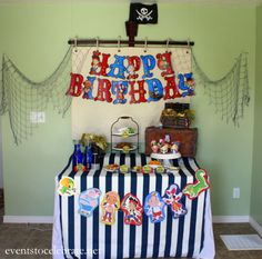 Jake and the Neverland Pirates Party Decorations - Events To Celebrate