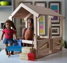 Ana White   Build a Horse Stables