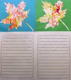 fall art + writing