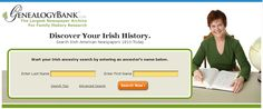 """Irish American newspapers for genealogy at GenealogyBank. Read more on the GenealogyBank blog: """"Find Your Ethnic Ancestors with Historical Newspapers."""""""
