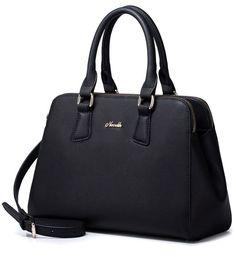 Black Genuine Leather Executive Handbag (bagz.co.uk)