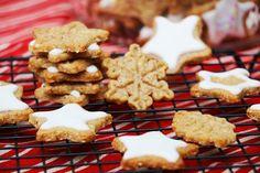 Gâteaux ou biscuits étoiles de Noël : recette facile via @hervecuisine