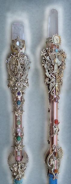 Celestial crystal wands, http://www.luvocracy.com/SamanthaMars/collections/wiccan-tools