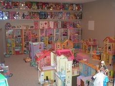 View of another Barbie room