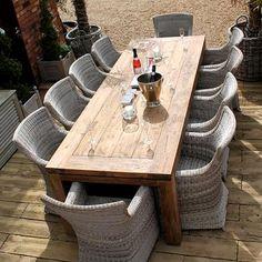 How to buy teak responsibly - Rattan and Teak Furniture Garden Coffee Table, Garden Sofa Set, Garden Dining Set, Outdoor Dining Set, Teak Garden Furniture, Rattan Outdoor Furniture, Dining Furniture, Rattan Armchair, Armchairs