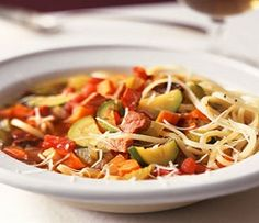 Heart Healthy Recipes - Minestrone Recipe