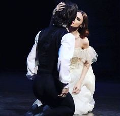 Svetlana Zakharova and Vladislav Lantratov in 'La dame aux Camelias' 😍😍
