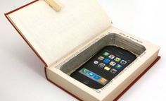 iPhone or Cell Phone Hollow Book Safe. Many other book safes here.