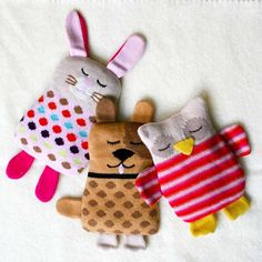 Knitted Animal Hottie - Gifts For Kids - Gifts
